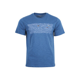 United By Blue Open Water Graphic Short Sleeve Tee Men mallard blue